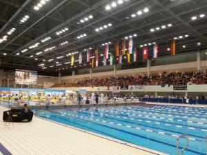 Dt. Kurzbahnm. Berlin 2016 Schwimmarena