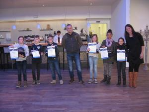 Neujahrsfeier Siegerehrung Mehrkampf 2017